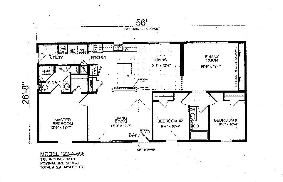 the granby single wide manufactured homes dave s